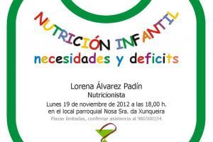 Charla Nutrición infantil 2012